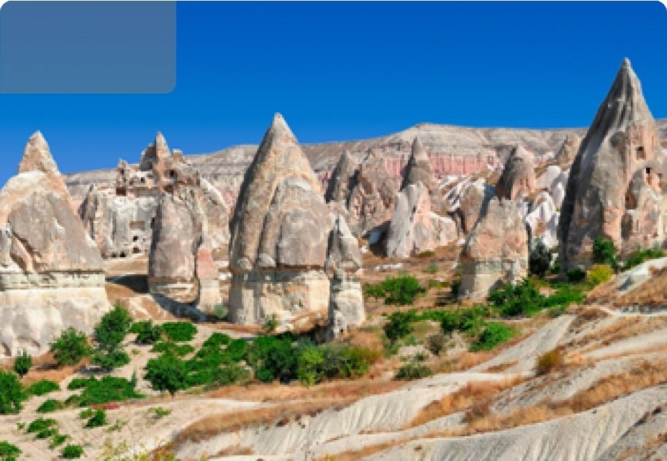 2021Turchia Cappadocia e Costa Egea - Europa - Turchia Cappadocia e Costa Egea Tour B   7 gg  6 nts